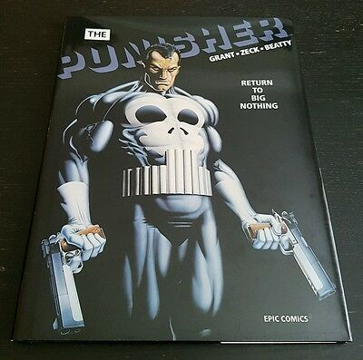 THE PUBISHER RETURN TO BIG NOTHING HC (1989 MARVEL) *1st PRINTING* NM/NM+