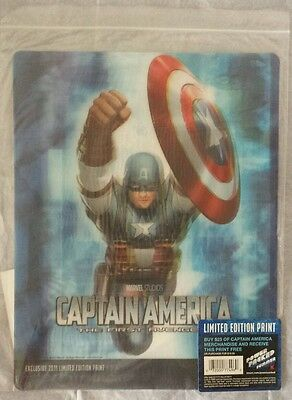 2011 CAPTAIN AMERICA Kmart Exclusive LIMITED EDITION PRINT #4