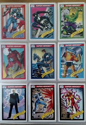 Marvel Universe Series 1,2,3,4 Complete Sets 1990, 1991, 1992, 1993 Wow!!