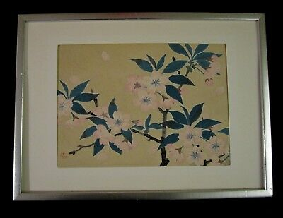 JAPANESE Woodblock Prints on Nippon Paper Hand Print
