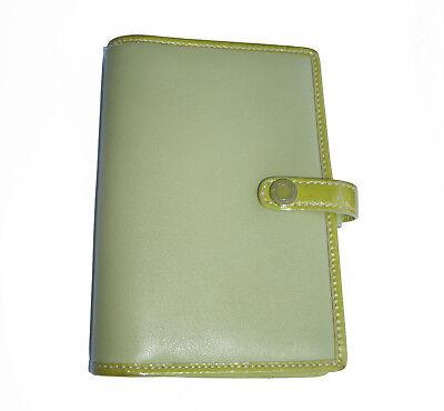12f482531c7 COACH LEATHER PASSPORT Case Wallet Green Pocket Planner or Book Cover -   25.00