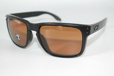71e1049f1b Oakley Holbrook Polarized Sunglasses OO9102-98 Matte Black W  Bronze Iridium
