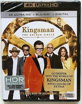 New Kingsman The Golden Circle 4K Ultra Hd Blu Ray Digital Hd 2 Disc Free Shippi