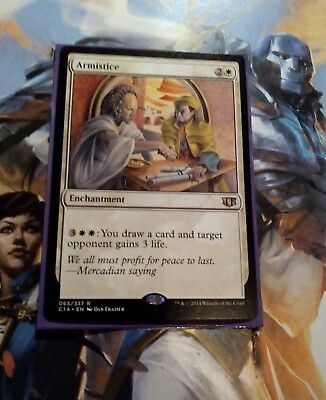 ARMISTICE 065/337 C14 Commander 2014 RARE Mtg Magic the Gathering NEW