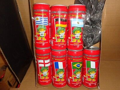 coca cola cans from Spain.330ml slim can for world cup 2010.