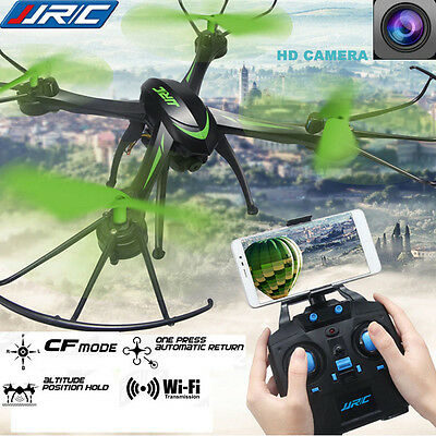 JJRC RC Quadcopter WIFI FPV 2.4Ghz 4CH 6-axis CF Drone RTF 0.3MP HD Camera