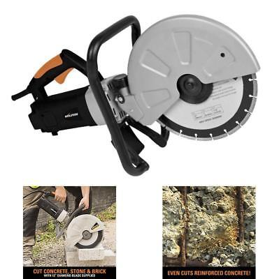 Industrial Electric Concrete Cut Off Saw Circular Disc Diamond Blade Cutter Tool