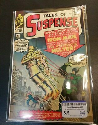 Tales of Suspense 47 CBCS 5.5 - 1st Melter raw grade not CGC