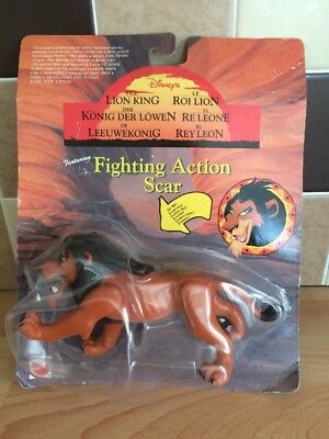 Disney's the Lion King Fighting Action Scar figure
