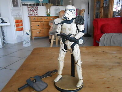 """HOTTOYS / SIDESHOW  STAR WARS 1/6  """" Sandtrooper """"    TOPZUSTAND ohne SHIPPER"""