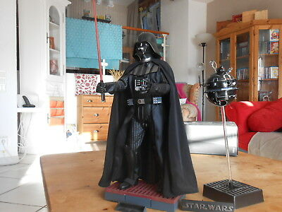 "HOTTOYS / SIDESHOW  STAR WARS 1/6  "" Darth Vader "" Ex.   TOPZUSTAND ohne SHIPPER"