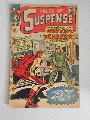 Tales of Suspense #51 (2.0 GD) Marvel 1st Scarecrow Iron Man & Captain America