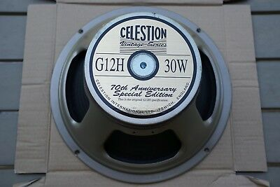 "Celestion G12H 30W 12"" 8 Ohm - 70th Anniversary Special Edition - G12H30"