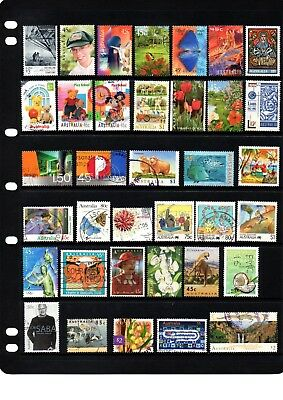 Australian sheet stamps, including high value, free post - off paper - Lot 370.