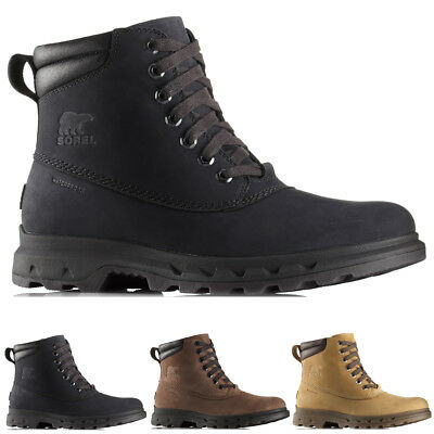 c4bcd451292 MENS SOREL PORTZMAN Lace Thermal Walking Hiking Trekking Snow Boots All  Sizes