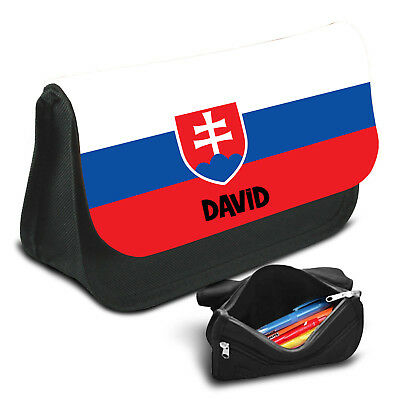 Slovakia Personalised Pencil Case Game School Bag Kids Stationary