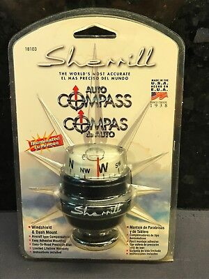 New in Package Sherrill Auto Boat Compass