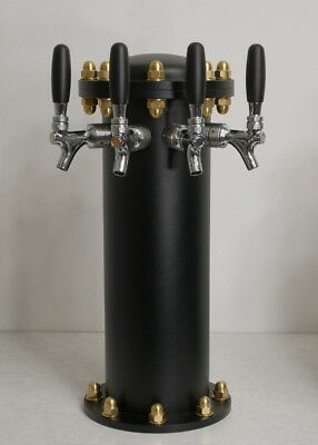 NEW Draft Beer Tower Hydrant - AIR cooling - 3 Lines - Commercial