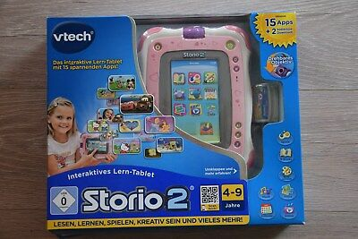 VTech Storio 2 Interaktives Lern-Tablet mit Kamera - rosa, OVP, TOP