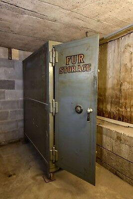 Antique Safe - Fur Storage