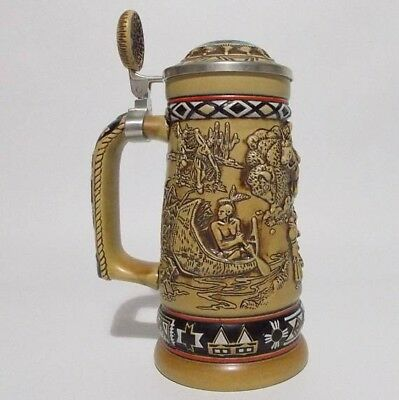 Avon Collectible Indians of the American Frontier Stein