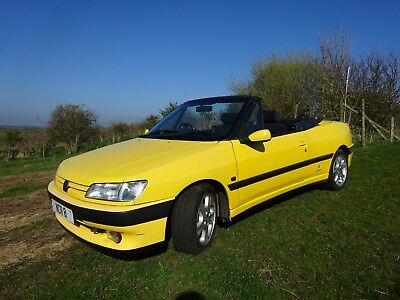 Classic collectible 1996 Peugeot  306 Cabriolet Soft top Convertible  NO RESERVE