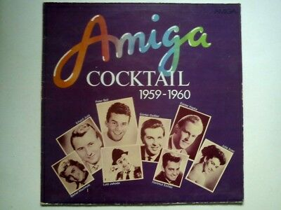 AMIGA COCKTAIL 1959 - 1960 -Rock 'n' Roll, Schlager DDR LP