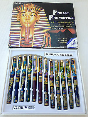 Beautiful Ancient Egyptian Pharaohs King Tut Pen Collection Free Shipping