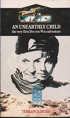 Doctor Who - An Unearthly Child Virgin reprint