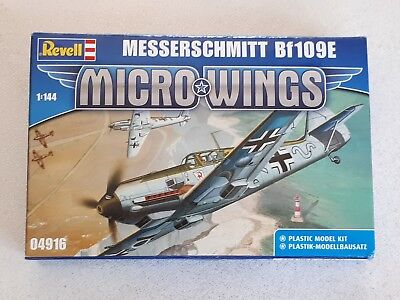 Revell 04916 Micro Wings Messerschmitt Bf 109 E German Air Fighter 1:144 WWII