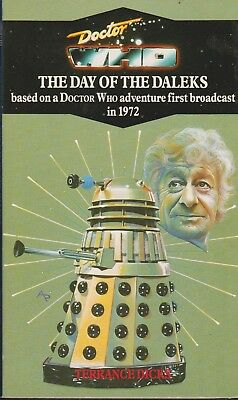 Doctor Who - Day of the Daleks Virgin reprint
