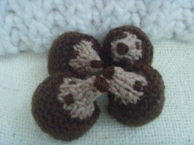 Hedgehogs 4 Knitted  Hedgehog Covers For  Ferrero Rocher New