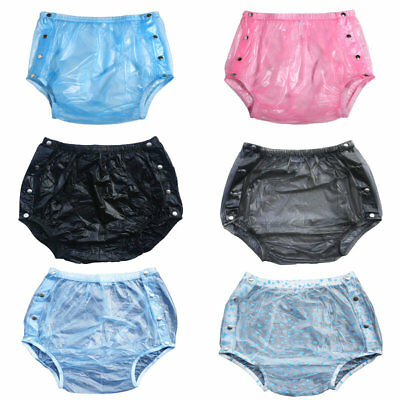 Haian Adult Incontinence Snap-on Plastic Pants 3 Pack