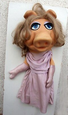 Miss Piggy  Muppet Show Jim Henson ca. 45cm Fisher price toys  855 um 1977