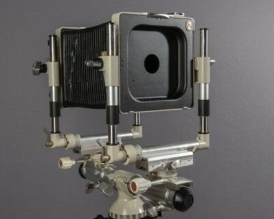 Linhof Kardan 4X5  Bi System, with Both Bellows and Lens boards