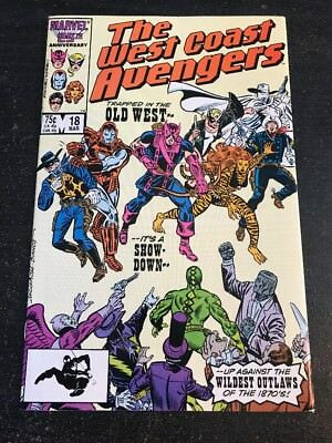 The West Coast Avengers#18 Incredible Condition 9.4(1987)