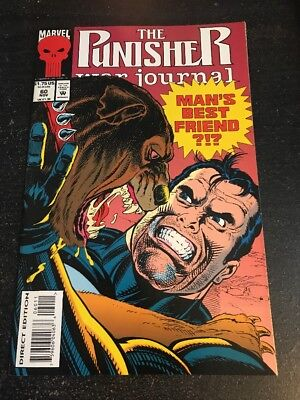 The Punisher:War Journal#60 Incredible Condition 9.0(1993)