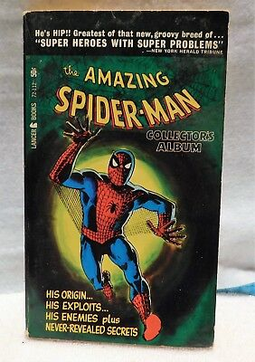 THE AMAZING SPIDER-MAN #2 by Stan Lee Collector's Album Lancer Books 1966 VG