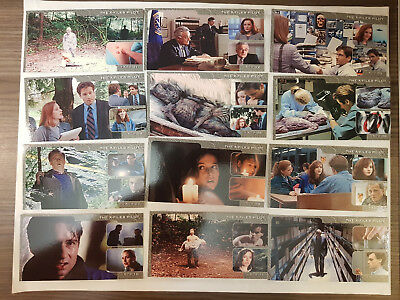 Akte X X-Files Showcase Widevision Trading Cards Komplettsatz Topps 1997
