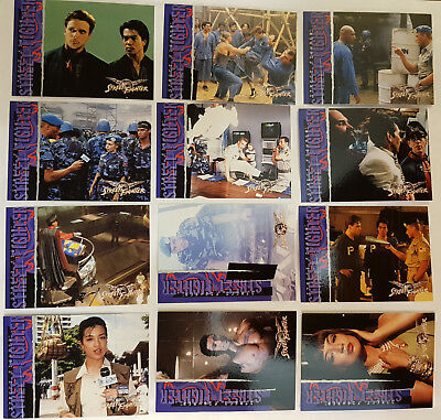 Street Fighter The Movie Trading Cards Komplettsatz Capcom 1994