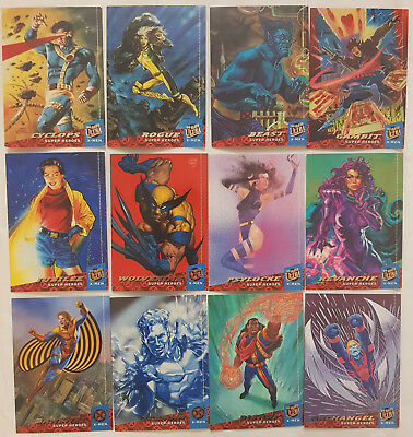 X-Men '94 Fleer Ultra Trading Cards Komplettsatz Fleer 1994
