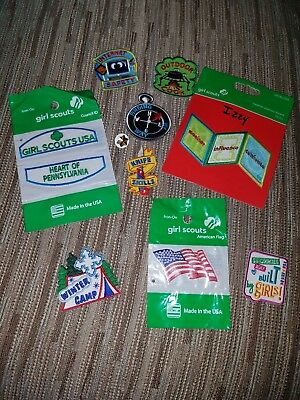 Various, Never Been Used Girl Scout Patches