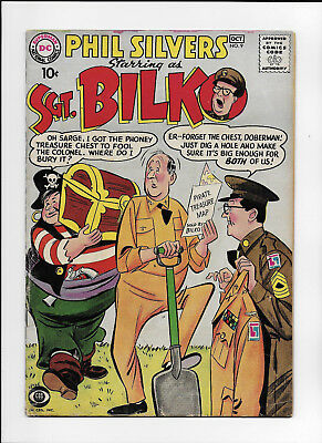 Sgt. Bilko #9 - Very Scarce Dc Silver Age From 1958