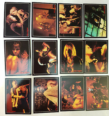 The Crow – City of Angels Trading Cards Komplettsatz kitchen sink 1996