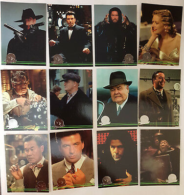 The Shadow Trading Cards Komplettsatz + Sonderkarten topps 1994