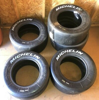 Michelin S210 23/57-13 Slick Road Race Tires LOT OF 5 NEW OLD STOCK