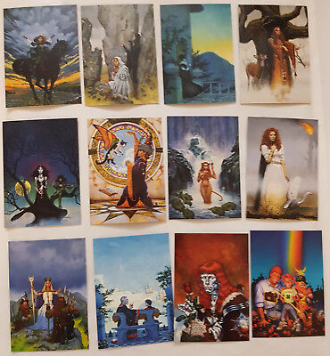 Don Maitz Series 2 Fantasy Art Trading Cards Komplettsatz FPG 1996