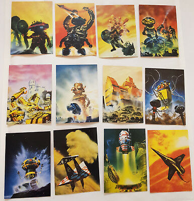 Chris Foss Fantasy Art Trading Cards Komplettsatz FPG 1995