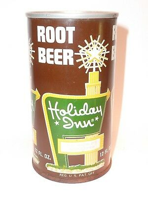 12oz Holiday Inn Root Beer S.S. Pull Tab