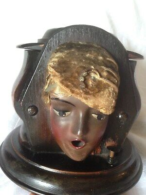 Wonderful Kindel and Graham Fatima, Gypsy Head, Cigarette Dispenser. C-1929